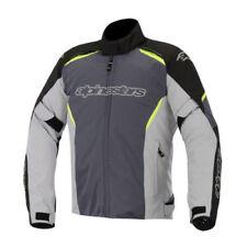 Blousons gris textiles doublure thermique pour motocyclette