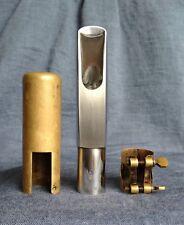 Vintage Berg Larsen Tenor Saxophone Mouthpiece 105/0 Offset M Denim Table Bullet