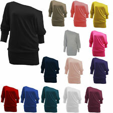 Hip Length No Pattern Unbranded Plus Size T-Shirts for Women