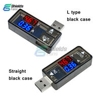 Digital Dual LED Display Tester 5V USB Current Voltage Voltmeter Power Detector