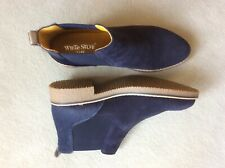 White Stuff Chelsea ankle boot size 7 (40) navy blue NEW