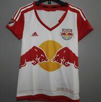 MLS New York Red Bulls Adidas Soccer Jersey New Womens Sizes