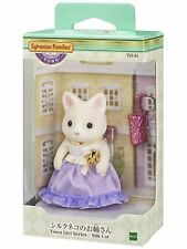 Epoc Sylvanian Families town Silk Cat Sister calico clitters