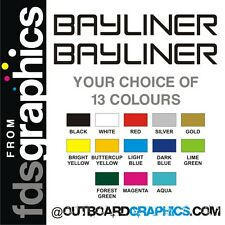 Pair of 710mm (28 inch) Bayliner stickers/decals