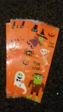 HALLOWEEN PARTY FAVOR LOOT TREAT BAGS...1 Pack...10 Bags..VGC