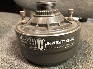 NOS University Sound ID-40 Horn Driver 16 Ohm 40Watt  Driver