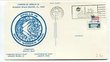1971 Launch of Apollo 15 kennedy Space center Scott Worden Irwin Space Cover