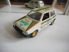 "Bburago Burago Fiat Uno ""Totip"" in White on 1:24"