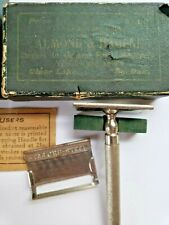 Antique 1915 Kampfe Bros NY STAR CRU-Steel Safety Razor Kit - Clear Lake, SD