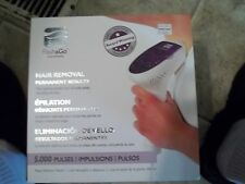 REDUCED!!!  NEW SILK 'N FLASH & GO 5000 PERMANENT HAIR REMOVAL SYSTEM