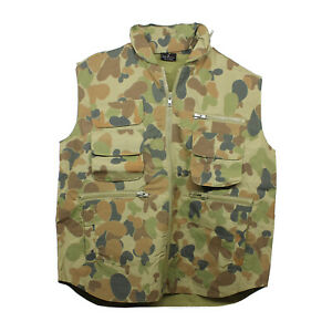 Ranger Vest - Poly Cotton - Auscam - available in sizes S - XL - Army & Military