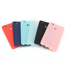 Candy Color Rubber Ultra Thin Soft TPU Phone Case Cover For Huawei P9 Lite 2016