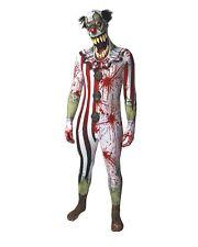 Morphsuit Zombie Clown Ganzkörperanzug Halloween Gr. M  - original Lizenzware