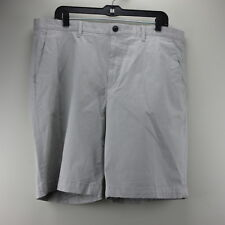 NWT $185 MENS THEORY BRUCER SHORTS SIZE 36 Light Khaki Cotton Stretch H0474214