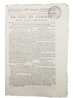Soudan en 1800 Fezzan Mourzouk Afrique Rennes Chouans Rare Journal Consulat