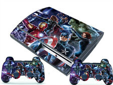 Man New for PlayStation 3 PS3 Fat 2 Controller Skins Awsome Custom Stickers