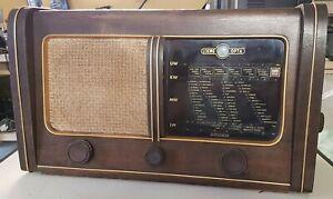 Antik Loewe Opta Globus Röhrenradio Bj.1950/51