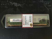 MEMORIA RAM NUOVA BLISTER Transcend 2GB DDR3 PC3-8500 1066MHZ CL7 240 PIN DIMM