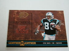 2004 Playoff Hogg Heaven Steve Smith Leather Card (B42) Carloina Panthers