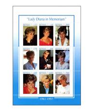 BEN9802 Princess Diana 9 items sheet