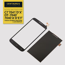 For Alcatel One touch Pop C7 7040A 7041X LCD Display Touch Screen Digitizer Bla