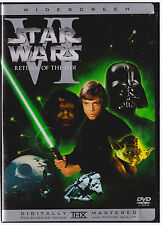 STAR WARS RETURN OF THE JEDI (DVD,Includes Insert)