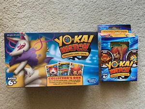 YO-KAI WATCH COLLECTORS BOX & TRADING CARD GAME (T15)