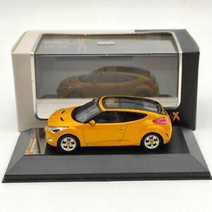 Premium X 1:43 HYUNDAI Veloster 2012 PRD270 Diecast Models Car Collection Orange