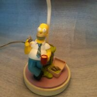 VTG Cordella The Simpsons Homer Simpson Collectible Table Accent Side Lamp