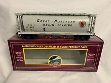 ✅MTH PREMIER GREAT NORTHERN 3-BAY CYLINDRICAL COVERED HOPPER CAR 20-90006!
