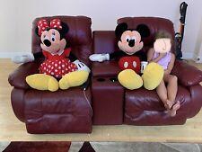 Jumbo 42 Inches Plush Disney Mickey and Minnie Mouse Stuffed Doll Bundle