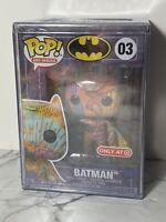 Funko POP! Artist Art Series Batman Orange DC Heroes Target Exclusive  03