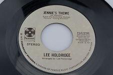 Lee Holdridge: Jennie's Theme / Lady Sings the Blues  [Unplayed Copy]