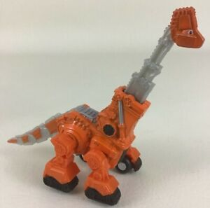 "Dinotrux Skya Die Cast Figure 4"" Dinosaur Truck Long Neck Netflix 2015 Mattel"