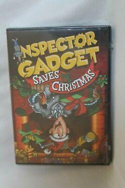 Inspector Gadget Saves Christmas DVD 2013 Dr Claw Faithful Dog Brain North Pole