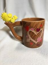 Woodstock Ceramic Coffee Mug Woodstock On A Tree Branch Peanuts Collectible