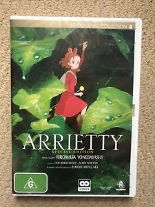 DVD - ARRIETTY SPECIAL EDITION  - Studio Ghibli Collection -  Pal NEW & SEALED