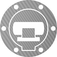 Für BMW R1200GS LC 2013- Tankdeckel carbonlook silber/tankcap carbonlook silver
