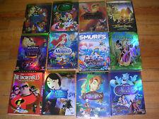 Disney DVD Lot: 12 pc Beauty & Beast, Aladdin, Peter Pan Sleeping Beauty & more