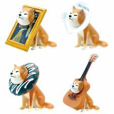 Miniature Shiba Inu Stuck Kawaii Japanese Dog Charm Figure 1 Random Toy