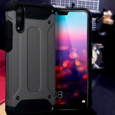 Huawei  P20 PRO Rugged  Bumper Cover Industrial  Metal Case Space Grey  ISPORT™