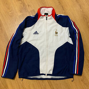 France 2004 Football Training Top Jacket Adidas Size L