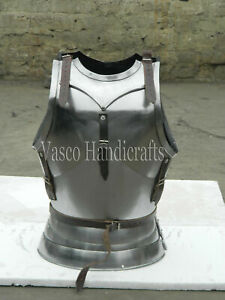 18GA Armor Breastplate Gothic Harness jacket Solid Steel Medieval Armor Jacket