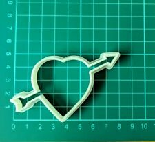 CUPID HEART BISCUIT CUTTER SEAMLESS COOKIES CRAFT CAKE DECORATING SUGARCRAFT