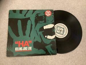 "Killing Joke - Ha - Live 10"" 1982"