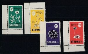 Cinderella   Stroma to Huna  Blumen  1965  -  4 Werte  ** (mnh)