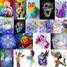 DIY 5D Diamond Animal Painting Embroidery Cross Craft Stitch Kit Home Wall Decor