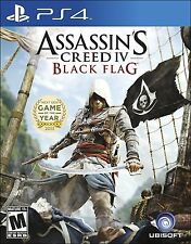 Assassin's Creed IV 4: Black Flag [PlayStation 4 PS4, Pirate Action Ezio] NEW