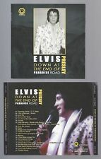 ELVIS DOWN AT THE END OF PARADISE ROAD 30/09/1973 MS BOOKLET STRAIGHT ARROW RARE
