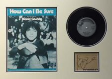 DAVID CASSIDY (HOW CAN I BE SURE) SIGNED AUTOGRAPH